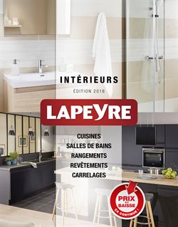 lapeyre catalogue r duction et code promo novembre 2018. Black Bedroom Furniture Sets. Home Design Ideas