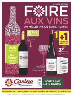 Foire aux vins : Un millésime de bons plans !