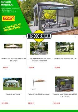 Catalogue Bricorama - Tonnelle
