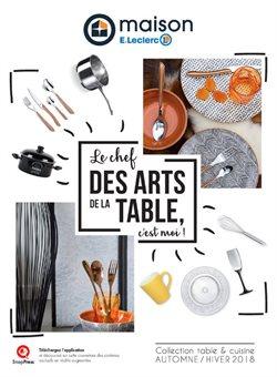 Le chef des arts de la table, c'est moi !