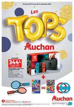 Les tops Auchan