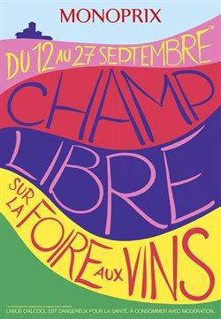 Champ Libre sur la Foire aux Vins