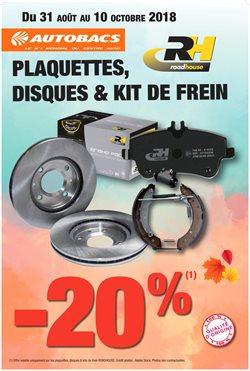 Plaquettes, Disques & Kit de Frein