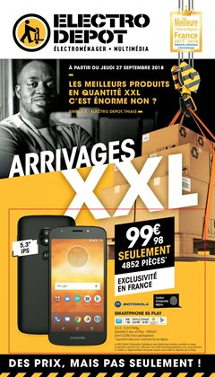 Arrivages XXL