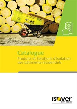 Catalogue Produits et Solutions d'Isolation des bâtiments residentiels