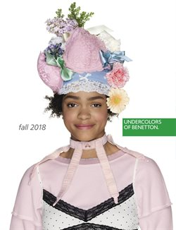 Catalogue Undercolors of Benetton Automne 2018