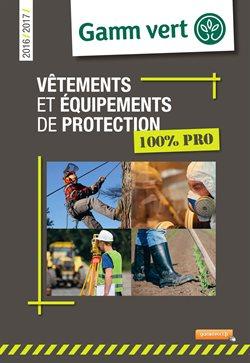 Vêtements et équipements de protection