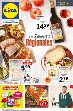 Les saveurs régionales - du 10/10 au 16/10
