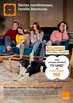 Orange - Séries nombreuses, famille heureuse