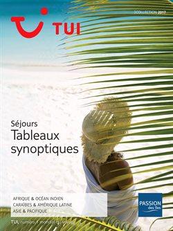 Séjours Tableaux synoptiques