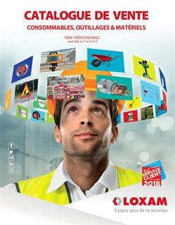Catalogue de Vente Consommables, Outillages & Matériels