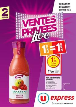 VENTES PRIVÉES LIVE 2e SEMAINE