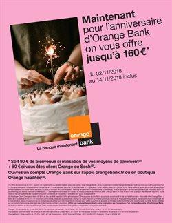 Maintenant pour l'anniversaire d'Orange Bank on vous offre jusqu'à 160€