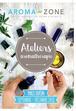 Ateliers aromathérapie
