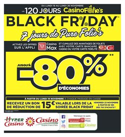 Black Friday - 7 jours de Pure Folie's