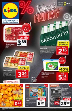 Offres LIDL Black Friday