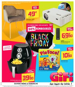 Offres Gifi Black Friday!