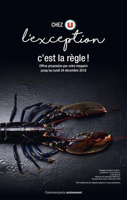 CHEZ U L'EXCEPTION CHEZ LA RÈGLE !