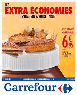 Les extra économies s'invitent à votre table !