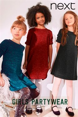 Next Girls partywear