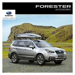Accessoires Subaru Forester 2016