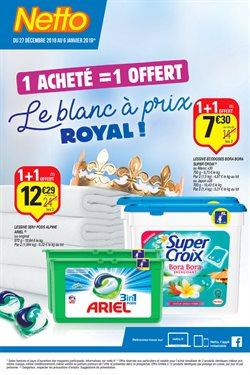 Le blanc à prix Royal!