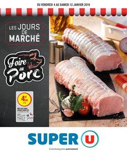 LES JOURS DE MARCHÉ FOIRE AU PORC