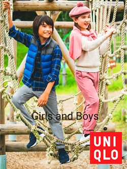 Uniqlo Girls and Boys