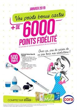 + de 6000 points fidélité