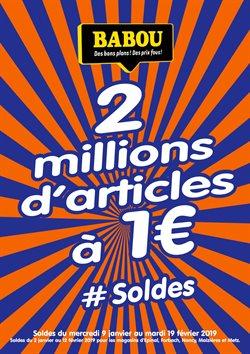 Soldes Babou