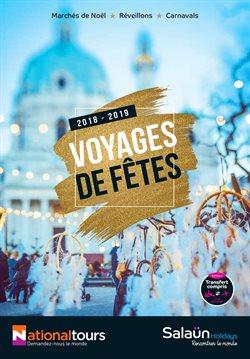 Voyages de fêtes