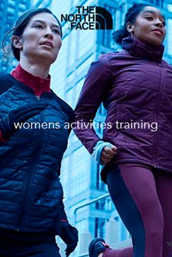 The North Face women activities