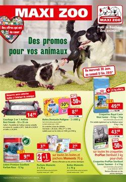 Des promos pour vos animaux