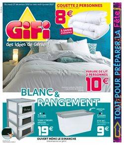 gifi catalogue prospectus et code promo avril 2017. Black Bedroom Furniture Sets. Home Design Ideas