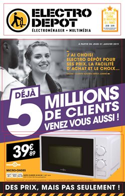 Catalogue Electro Dépôt