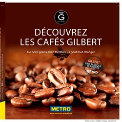 Découvrez Les Cafes Gilbert