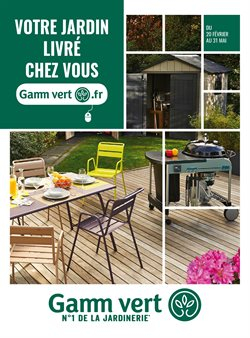 Gamm Vert - Catalogue, prospectus et code promo Juin 2019