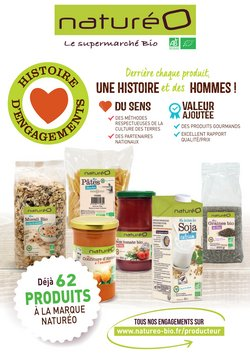 Les produits à la marque naturéO