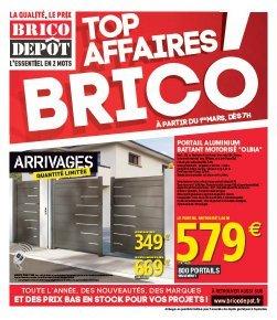 Top Affaire Brico Dépôt
