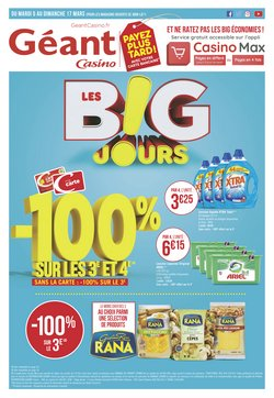 Géant Casino - Prospectus, catalogue et réduction Mai 2019