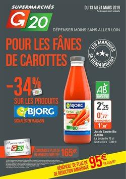 Pour les fânes de carottes