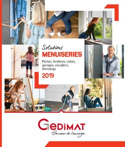 Solutions Menuiseries 2019