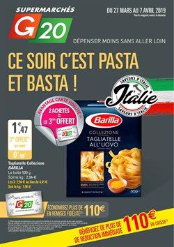 Ce soir c'est pasta et basta!