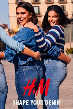 H&M Shape your denim