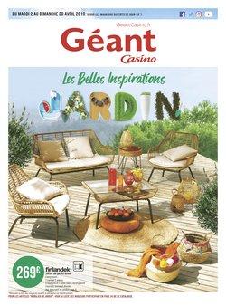 Géant Casino - Prospectus, catalogue et réduction Juin 2019