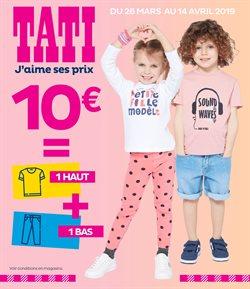 1 Haut + 1 Bas = 10€