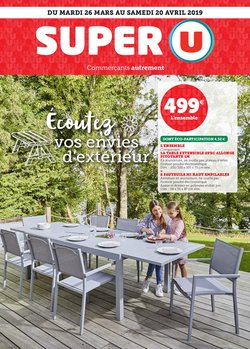 Super U - Catalogue, prospectus et code promo Juillet 2019