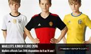 Maillots Junior Euro 2016