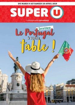 INVITEZ LE PORTUGAL À VOTRE TABLE !