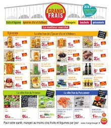 Catalogue Grand Frais : Promotions Avril-Mai 2019